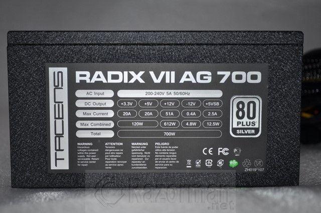 Tacens Radix VII AG 700W (21)