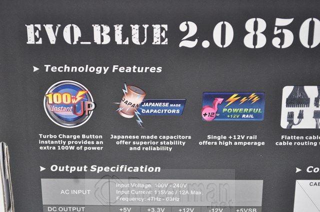 Thermaltake Evo-Blue 2.0 850W (8)