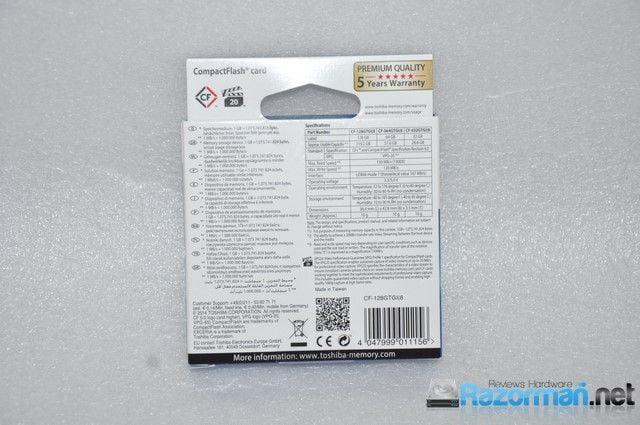 Toshiba Exceria Cf 128 GB (2)