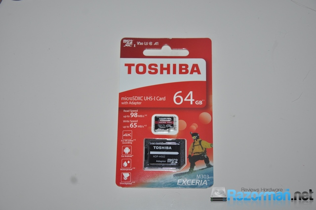 Review Toshiba Exceria M303 64GB 4