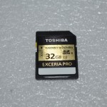 Review Toshiba Exceria PRO 32 GB