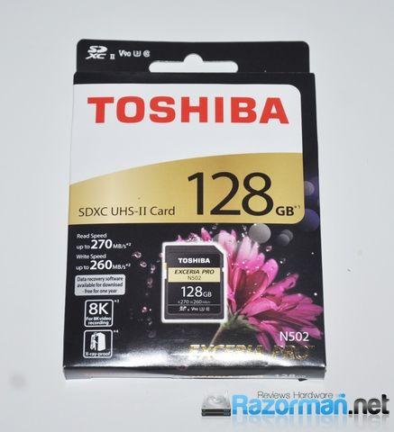 Review Toshiba Exceria Pro N502 128 GB 3
