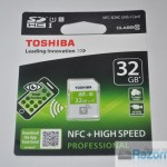 Review Toshiba SDHC NFC 32 GB