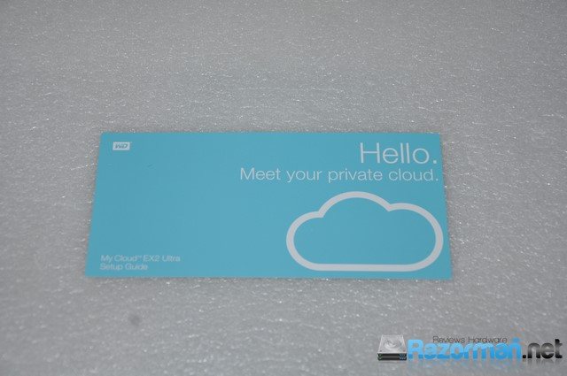 manual for wd my cloud