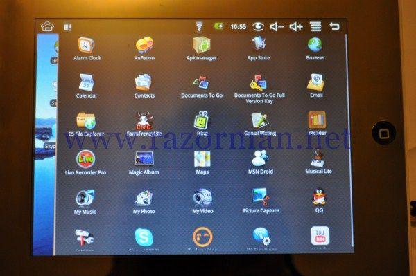 Review Tablet PC aPad M003 15