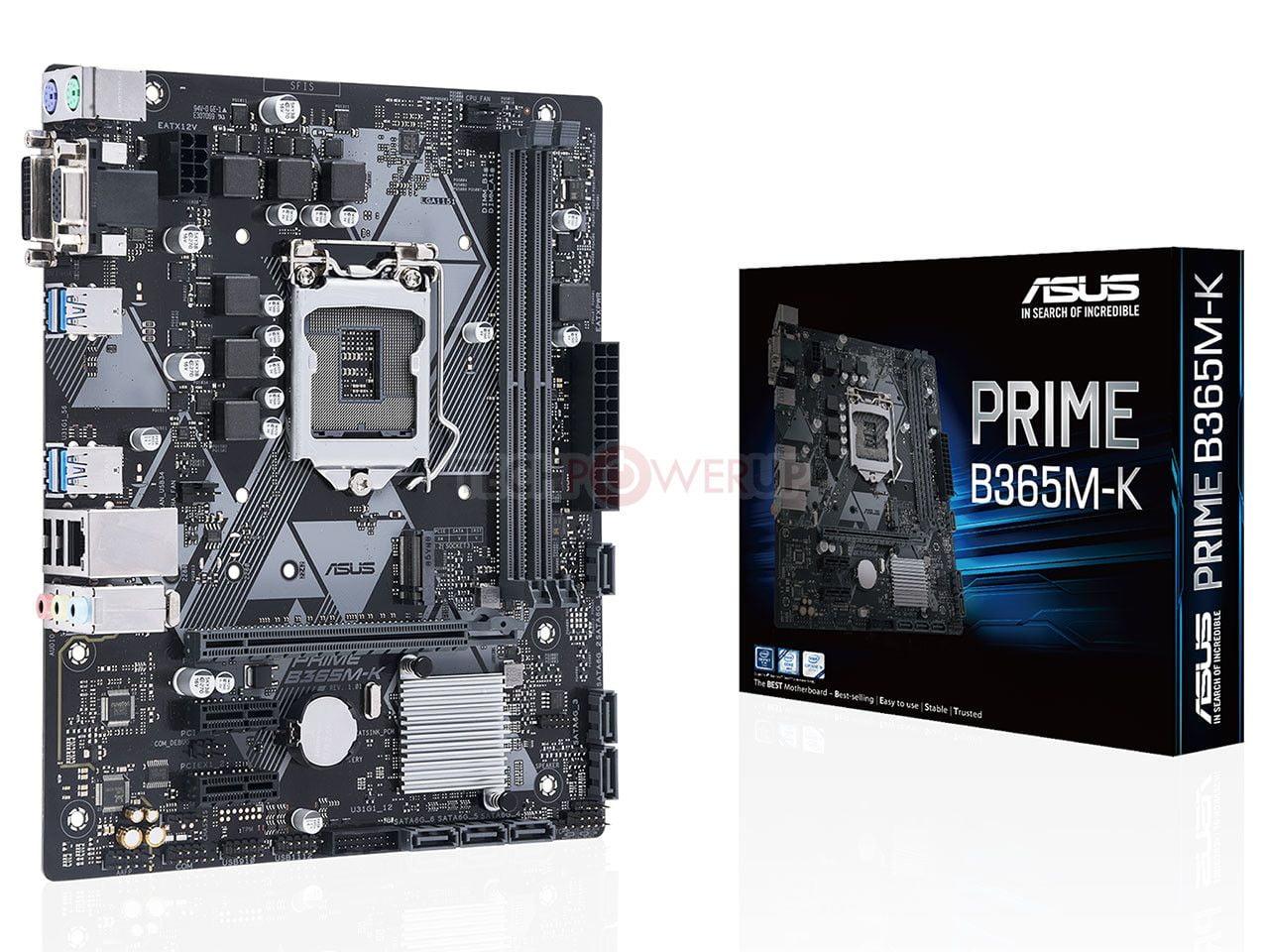 Asus presenta 2 nuevas placas con el chipset Intel B365 10