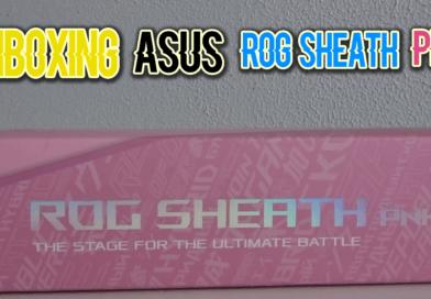 Review alfombrilla Asus Rog Sheath Pnk