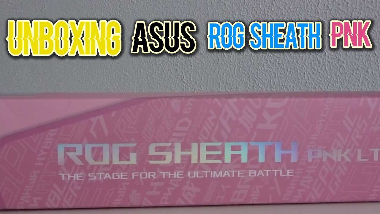 Photo of Review alfombrilla Asus Rog Sheath Pnk