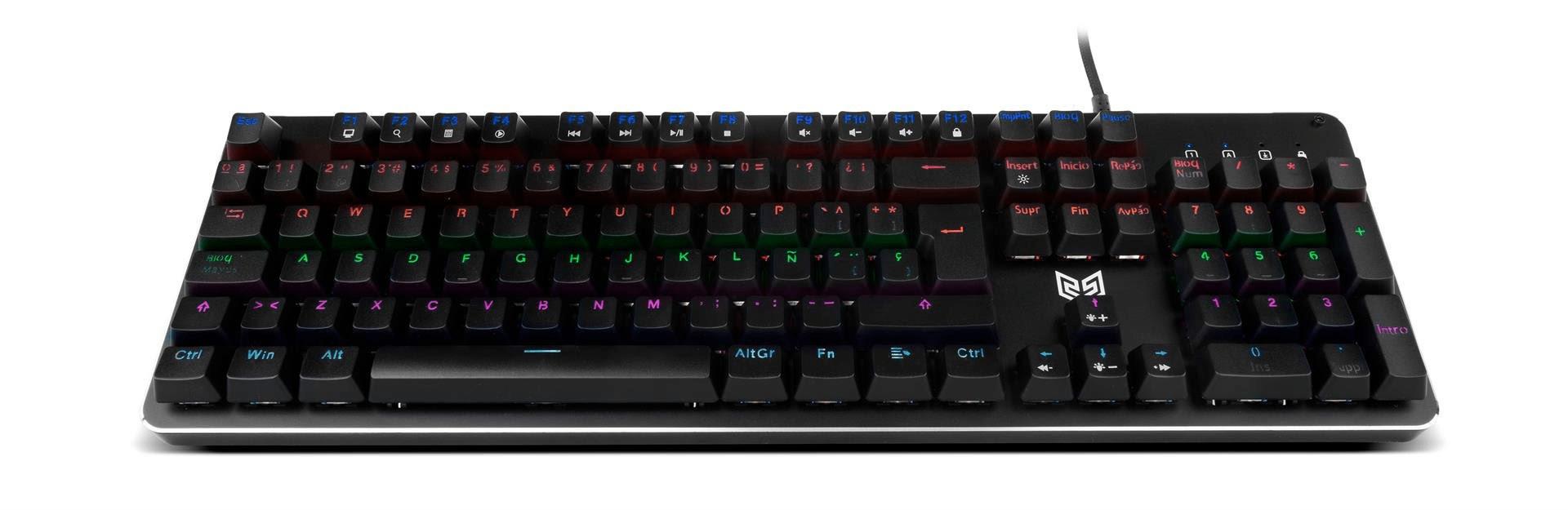 BG Raven, teclado mecánico económico 12