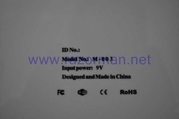 Review Tablet PC aPad M003 6