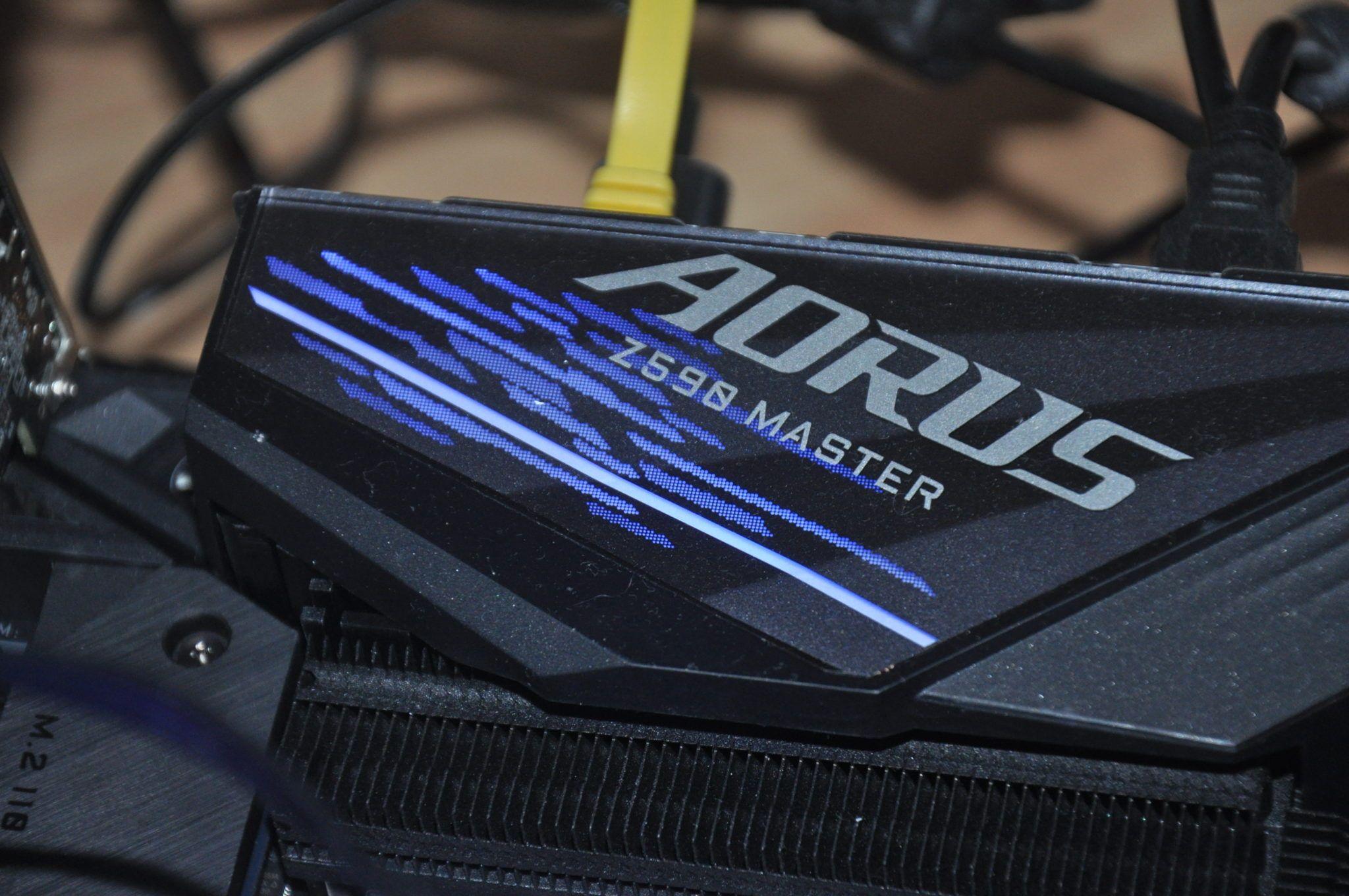 Review Aorus Z590 Master 24