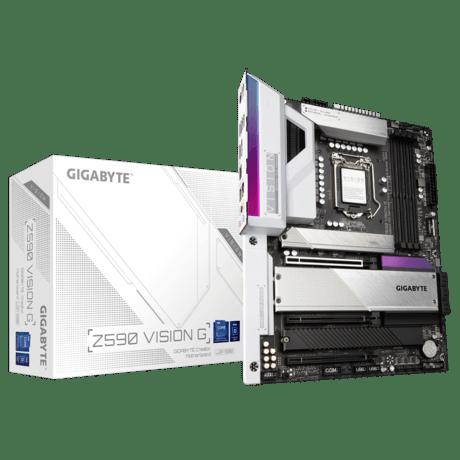 Review GIGABYTE Z590 Vision G 1