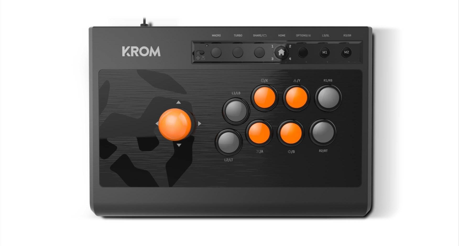 Photo of Nuevo mando para juegos KROM Kumite