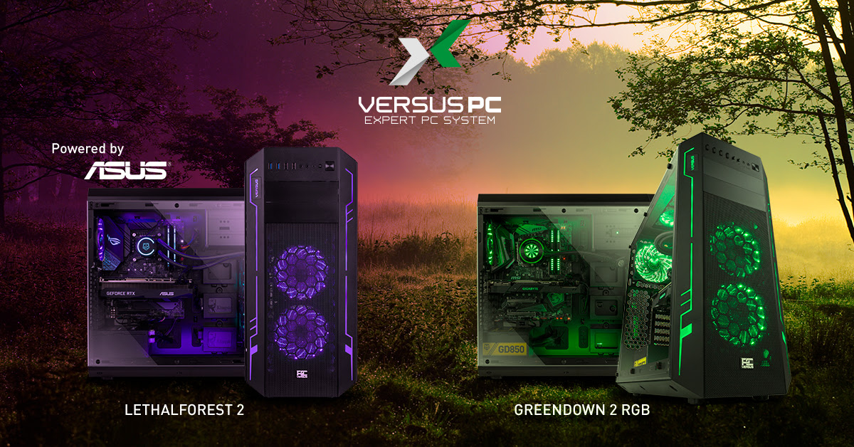 Photo of LethalForest 2 y GreenDawn 2, los nuevos ordenadores de Versus PC