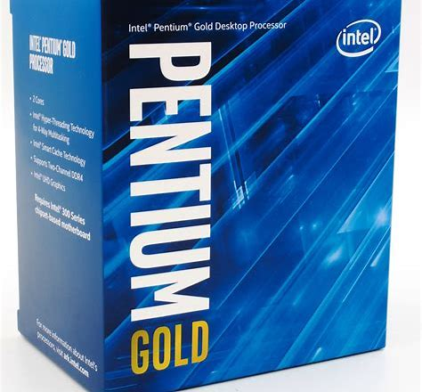Photo of Pentium Gold G5620