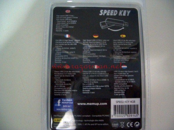 Review memoria USB MEMUP Speed Key 4 Gb 2