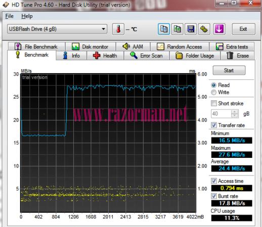 Review memoria USB MEMUP Speed Key 4 Gb 10