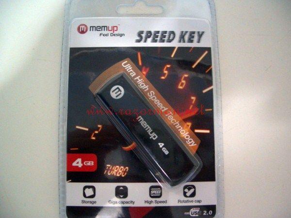 Review memoria USB MEMUP Speed Key 4 Gb 1