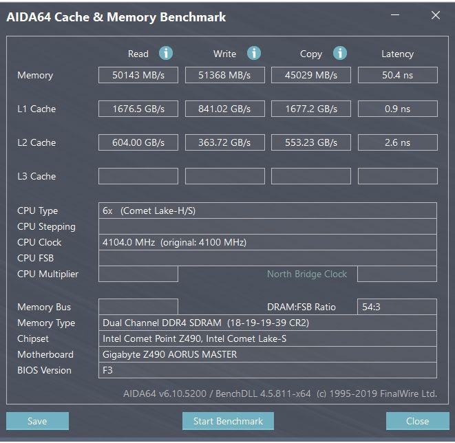 Review Intel Core i5-10600K 20