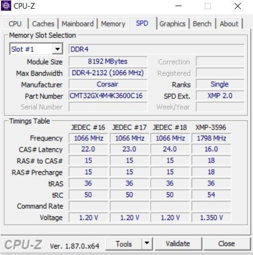 Review Corsair Dominator Platinum RGB 11