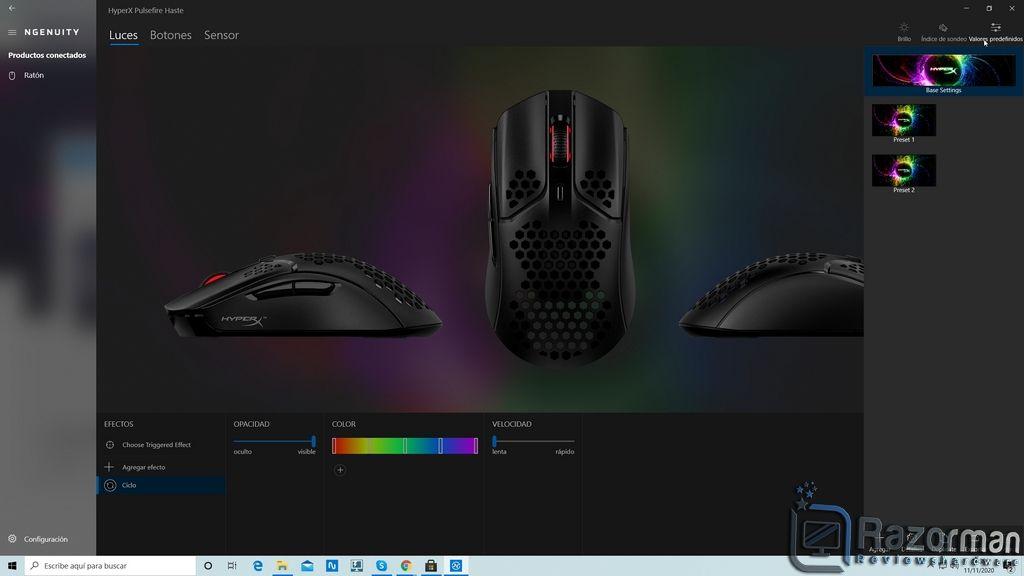 Review HyperX Pulsefire Haste 20