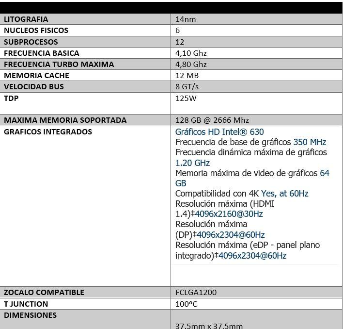 Review Intel Core i5-10600K 3