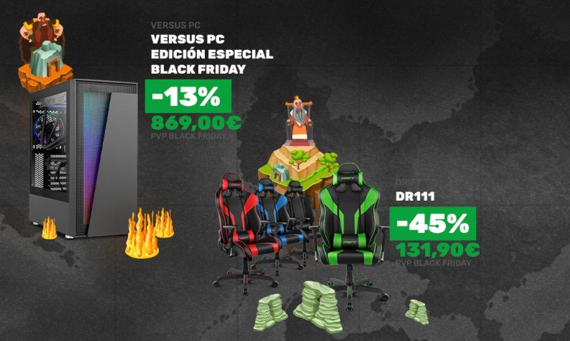 Versus Gamers conquista el Black Friday 2