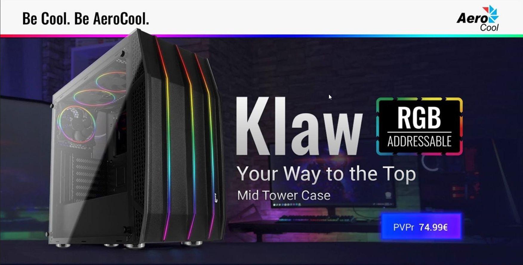 KLAW: Aerocool te trae el futuro de las cajas gaming 5