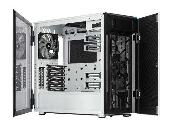 CORSAIR lanza los chasis Crystal Series 680X RGB y Carbide Series 678C