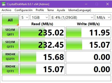 Review Kioxia Transmemory U365 32 GB 9