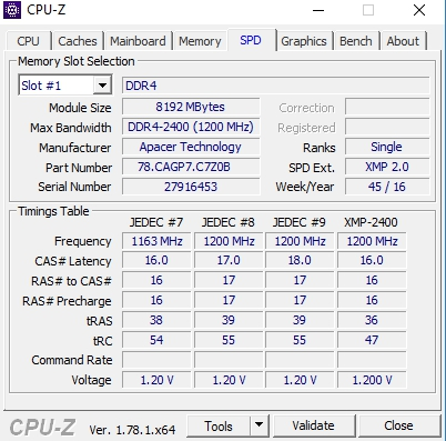 Review Apacer Panther DDR4 2400 Mhz 12