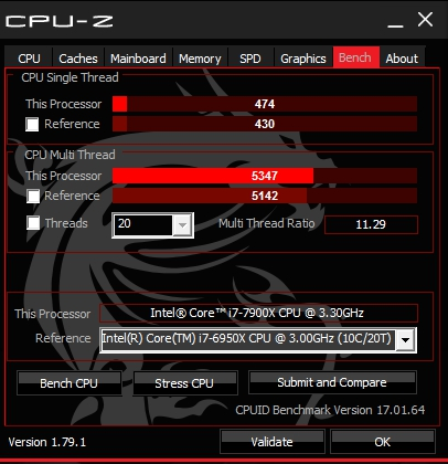 Review i9-7900X 6