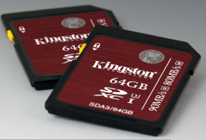 Kingston SD/SDHC 16 gb