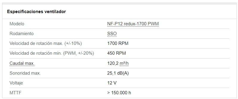 Review Noctua NH-U12S Redux y Noctua NA-FK1 Redux 3