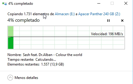 Review Apacer Panther AS340 240 GB 20
