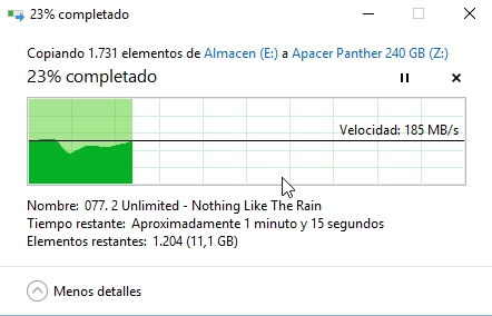 Review Apacer Panther AS340 240 GB 22
