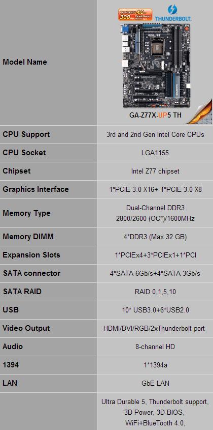 Review Placa Base Gigabyte Z77X-UP5TH 3
