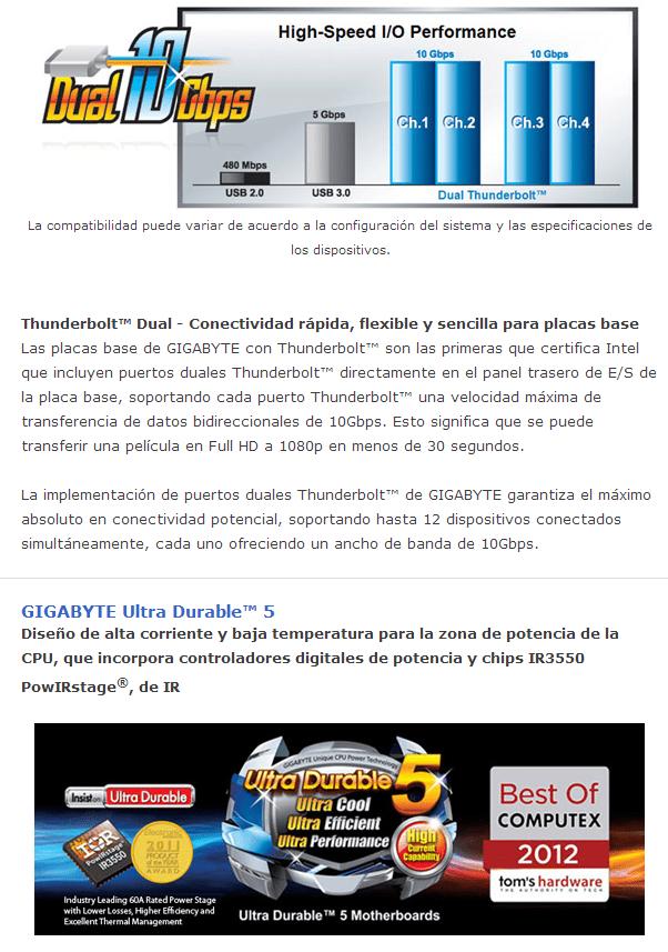 Review Placa Base Gigabyte Z77X-UP5TH 6