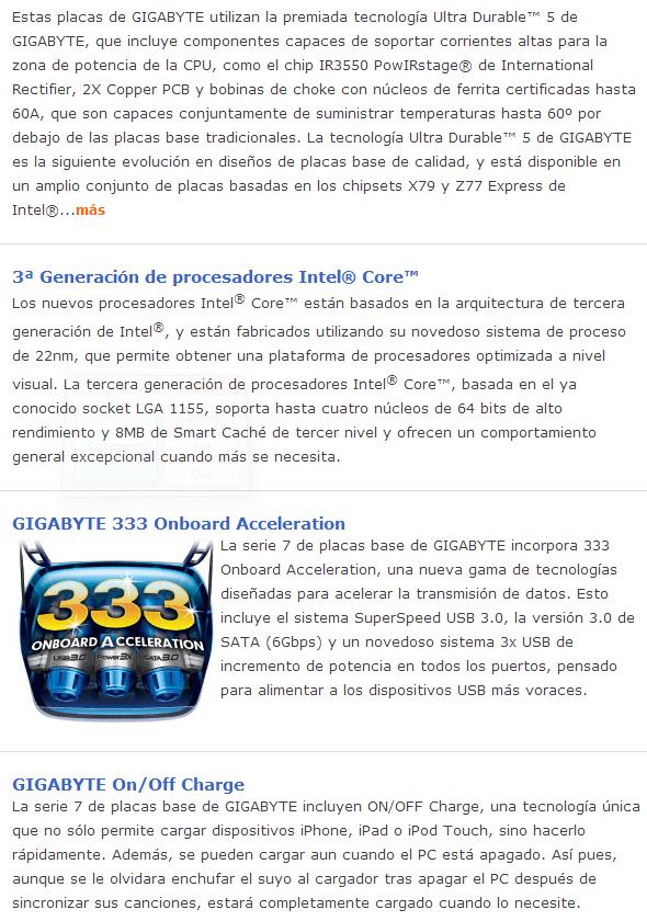 Review Placa Base Gigabyte Z77X-UP5TH 7