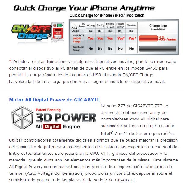 Review Placa Base Gigabyte Z77X-UP5TH 8