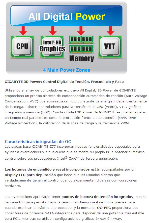 Review Placa Base Gigabyte Z77X-UP5TH 9