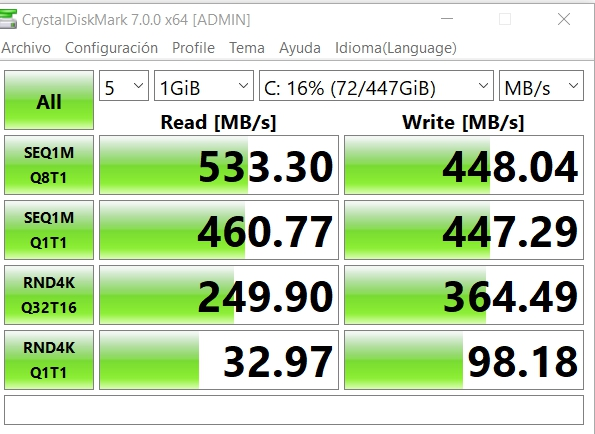 Review LC-Power Phoenix 480 GB 9