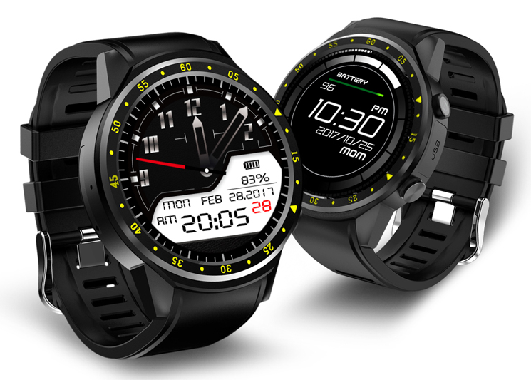 Review smartwatch Bakeey F1 1