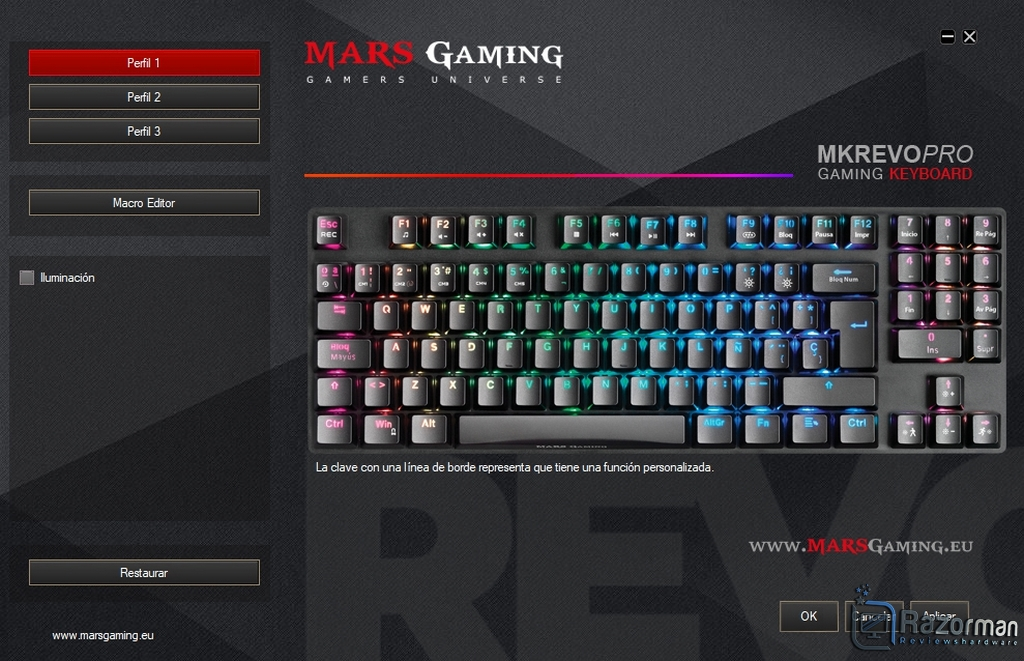 Review Mars Gaming MKREVO PRO 21
