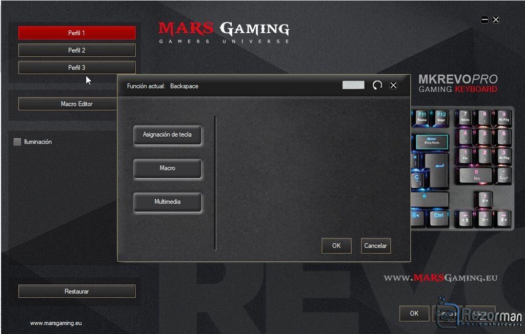 Review Mars Gaming MKREVO PRO 22