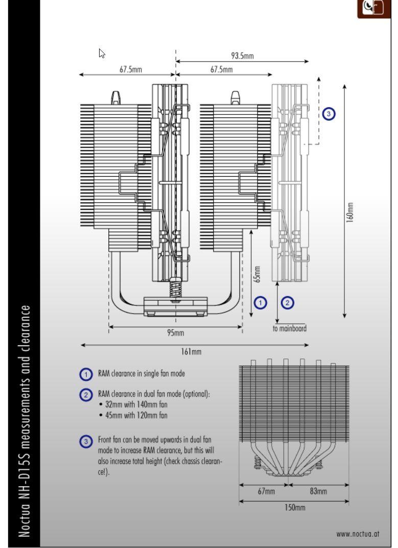 Review Noctua NH-D15S Chromax Black 3