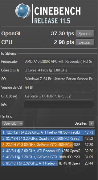 Review Gigabyte GA-F2A85X-UP4 y APU AMD A10 5800K 59