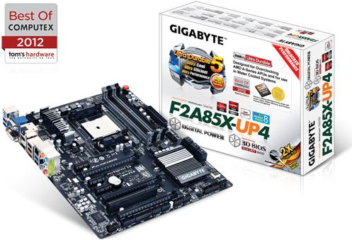 Review Gigabyte GA-F2A85X-UP4 y APU AMD A10 5800K 3