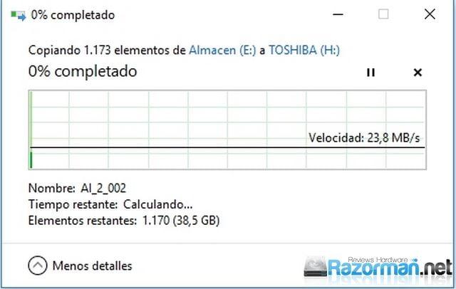 Review Toshiba U365 256 GB 9