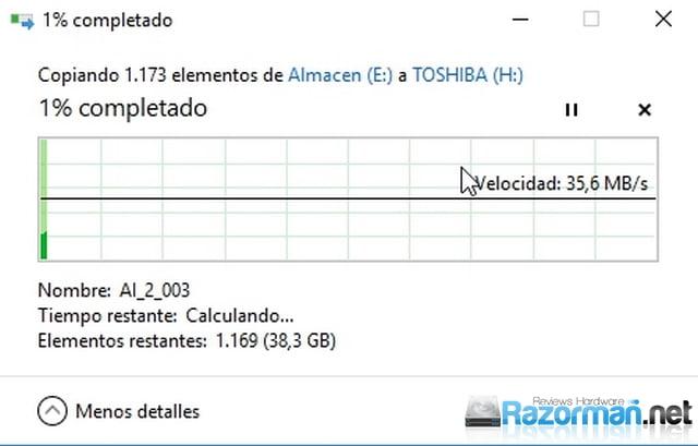 Review Toshiba U365 256 GB 10